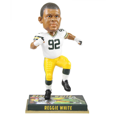 "Green Bay Packers Reggie White #92 Retired 8"" Bobblehead"