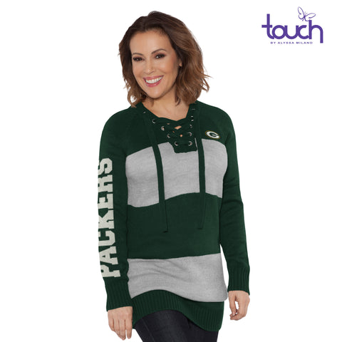 Green Bay Packers Rugby Girl Sweater