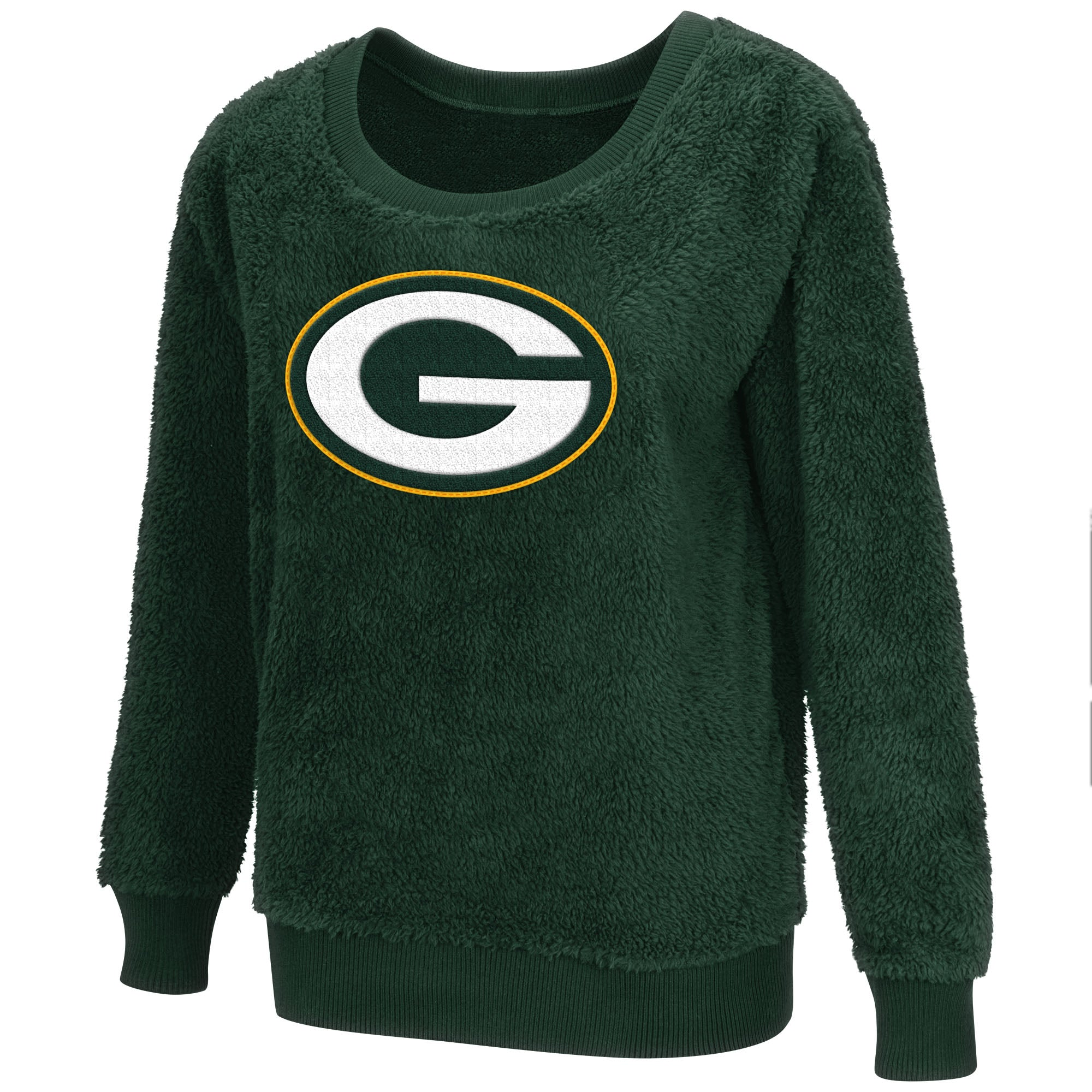 Green Bay Packers Sherpa Guide Women s Pullover – Green Bay Stuff 0b07f461f