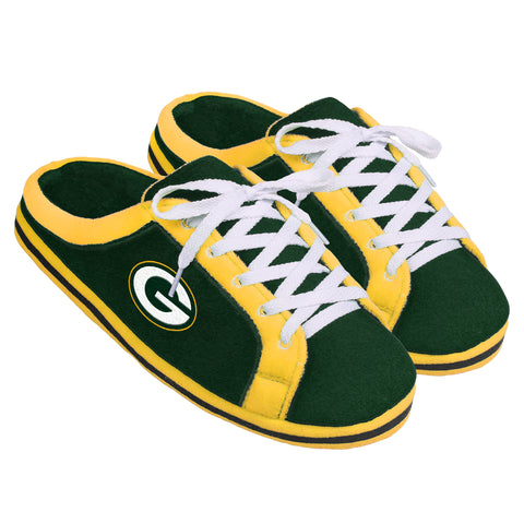 forever collectibles,team,beans,green bay packers,sneaker,slide,shoes,slide-on,slippers,sandals,footwear,clothing accessories