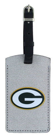 green bay packers,sparkle,bag,tag