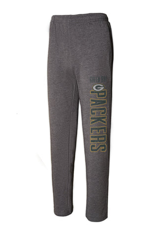 Green Bay Packers Squeeze Play Knit Pants, Grey