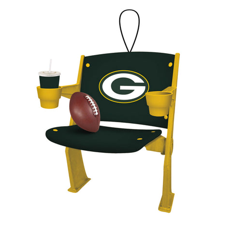 green bay packers,stadium,chair,ornament