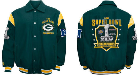 green bay packers,super,bowl,xlv,jacket