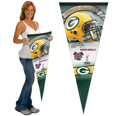 green bay packers,superbowl,ii,pennant