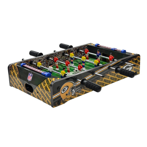 imperial,billiards,green bay packers,foosball,table,top,games,recreation,mancave,man,cave