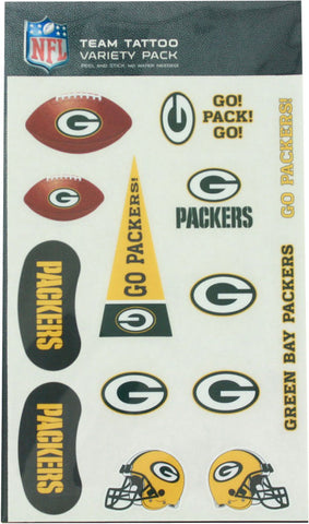 green bay packers,temporary,tattoo