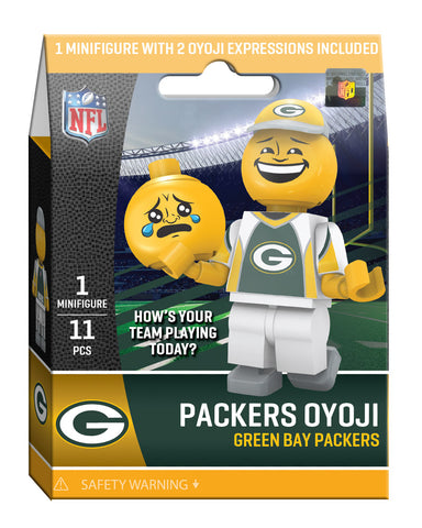 oyo,sports,green bay packers,hows,your,team,packers,oyoji,lego,oyo,figure,minifigure,building,toys