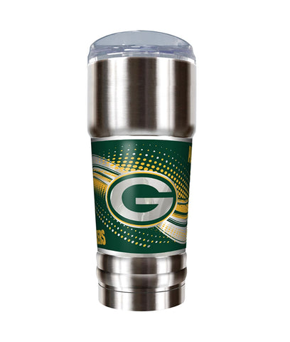 great,american,products,green bay packers,the,pro,travel,tumbler,stainless,steel,drinkwrae,cup,mug,glass,barware