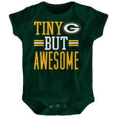 Genuine by Outerstuff Green Bay Packers I Scream for My Team Baby Boys Romper