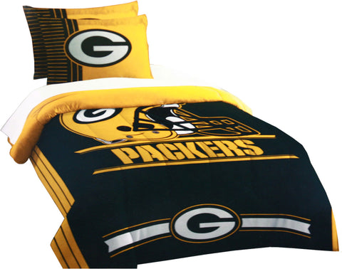 the,northwest,green bay packers,twin,full,applique,comforter,set,bed,bedding,bed,in,a,bag,home,decor,decoration