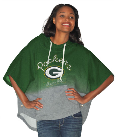 green bay packers,fleece,poncho