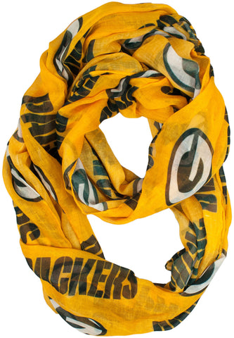 green bay packers,infinity,scarf