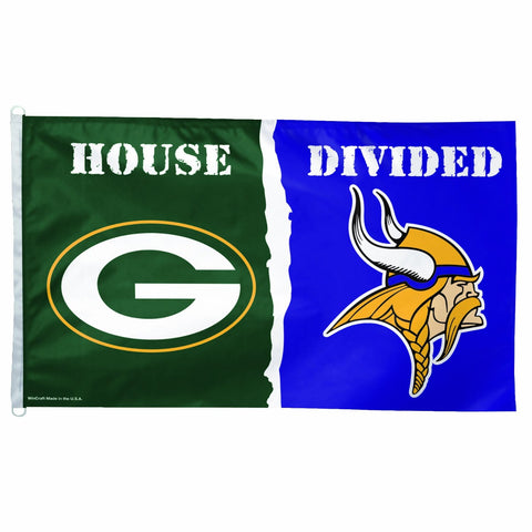 green bay packers,flag,vikings,flag