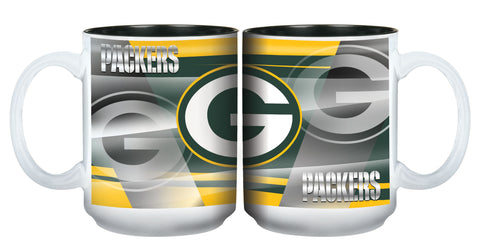 Green Bay Packers 15oz Shadow Mug