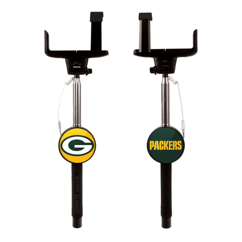 green bay packers,selfie,stick