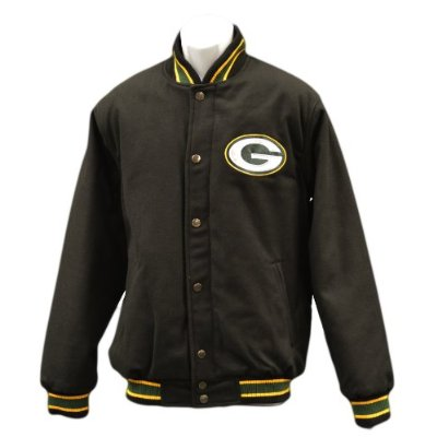 NFL Green Bay Packers Wool Jacket