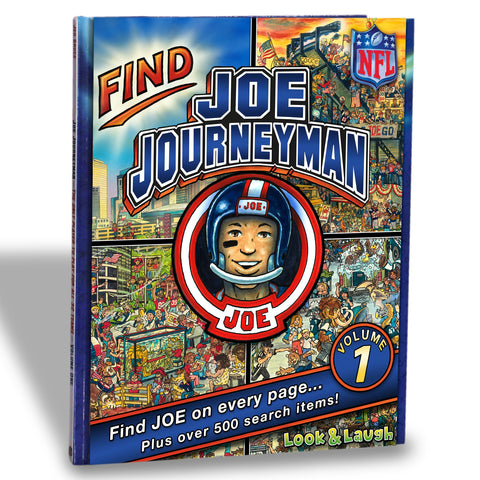 NFL Look & Laugh Joe Journeyman Search Adventure (Volume 1)