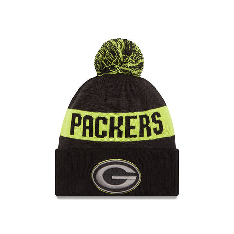 new era,2016,green bay packers,sport,knit hat,beanie,skullie,winter,clothing accessories,nfl,national football league