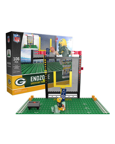 oyo,sports,green bay packers,endzone,end,zone,set,action,toy,figure,mini-figure,minifigure,g4,generation,4,limited,edition