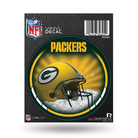 Green Bay Packers 4.5 Round Vinyl Decal Sticker""