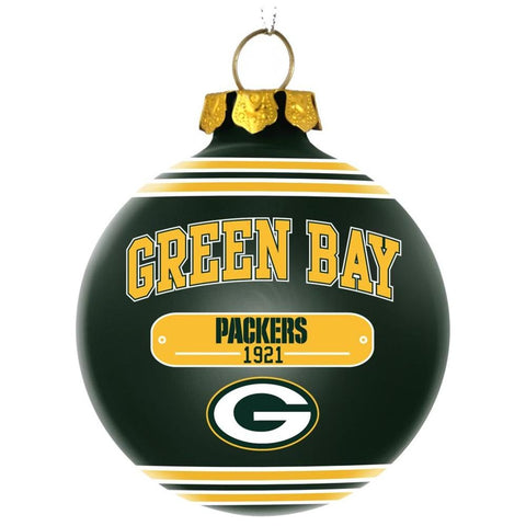 Green Bay Packers Official NFL 2014 Year Plaque Ball Ornament
