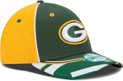 Green Bay Packers Field Goal 9FORTY Adjustable Hat - Green/Gold