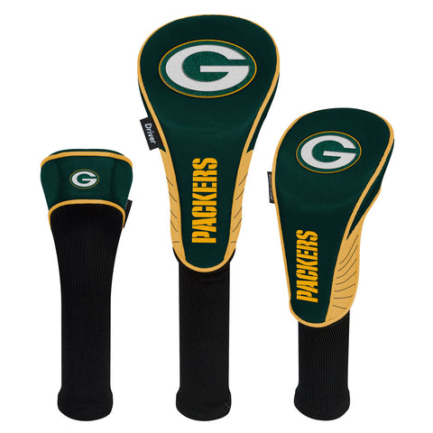 Green Bay Packers Headcovers - Set of Three