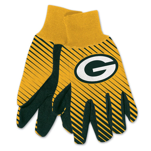Green Bay Packers Adult Two Tone Gloves