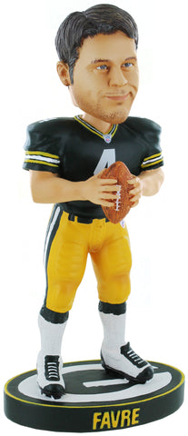 "Green Bay Packers Brett Favre #4 Legends of the Field 7"" Bobblehead"