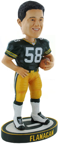 "Green Bay Packers Mike Flanagan #58 Legends of the Field 7"" Bobblehead"