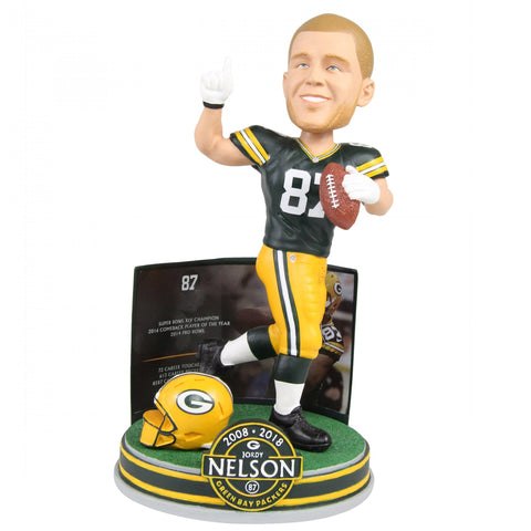 Green Bay Packers Jordy Nelson #87 Retirement Bobblehead