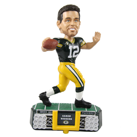 Green Bay Packers Aaron Rodgers #12 Stadium Light Bobblehead