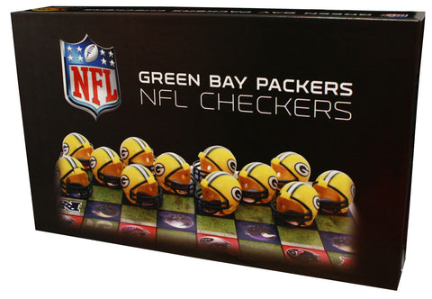 Green Bay Packers vs Minnesota Vikings Checkers Board Game