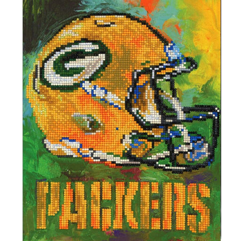Green Bay Packers - Team Pride Diamond Art Craft Kit