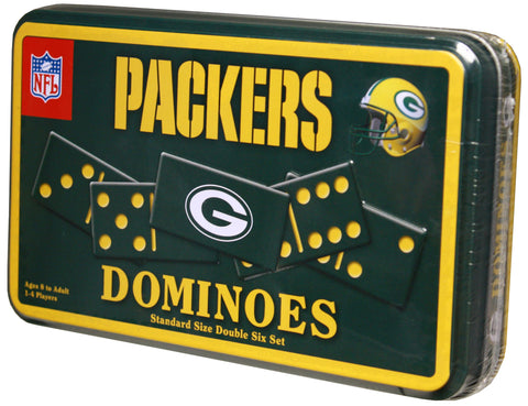 Green Bay Packers Dominoes in Tin
