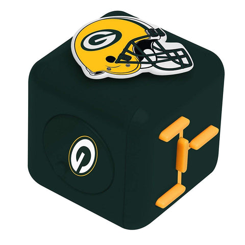 forever collectibles,foco,team,beans,green bay packers,diztracto,cubez,fidget,spinner,finger,toys,figure