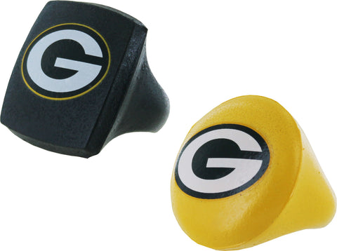 Green Bay Packers Home and Away Fan Rings Set, 2-Pack, Small