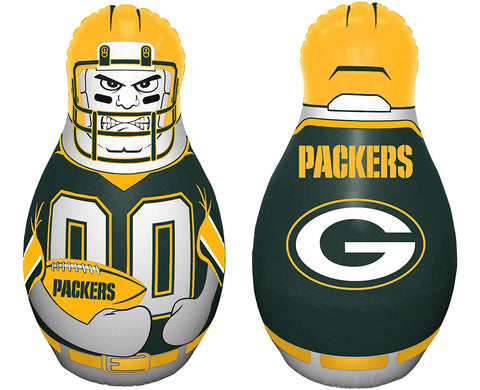 green bay packers,inflatable,punching,bag