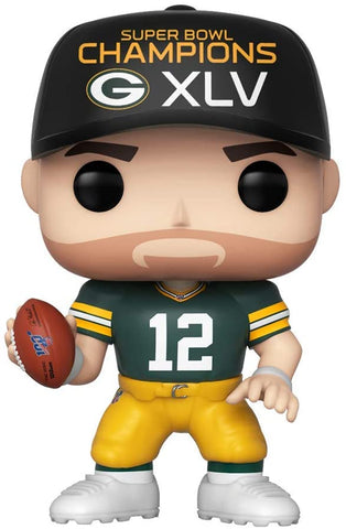 "FunKo POP! Football Green Bay Packers Aaron Rodgers SB XLV Champion 3.75"" Figure"