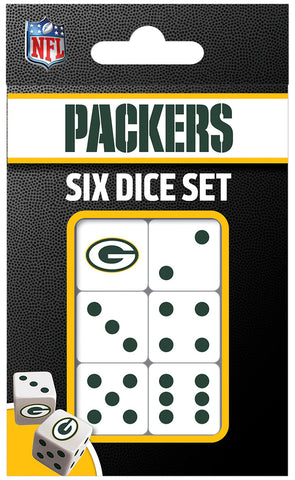Green Bay Packers Dice Pack