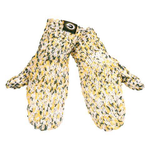 Green Bay Packers Women's Chunky Mittens