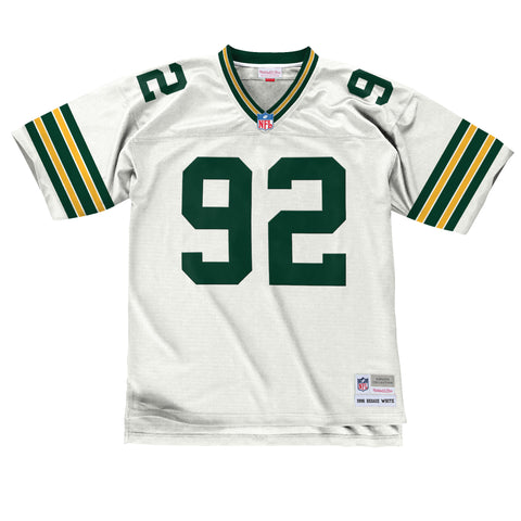 Green Bay Packers Reggie White 1996 Legacy Jersey, White