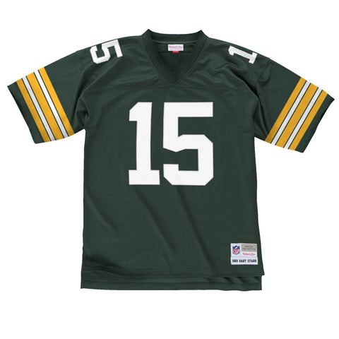 Green Bay Packers Bart Starr 1969 Legacy Jersey, Green
