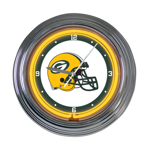 green bay packers,clock,packers,neon,clock