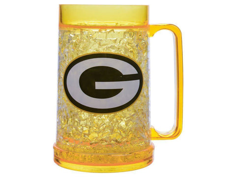 Green Bay Packers 16oz Yellow Freezer Mug