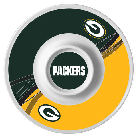 Green Bay Packers Dynamic Chip and Dip Tray