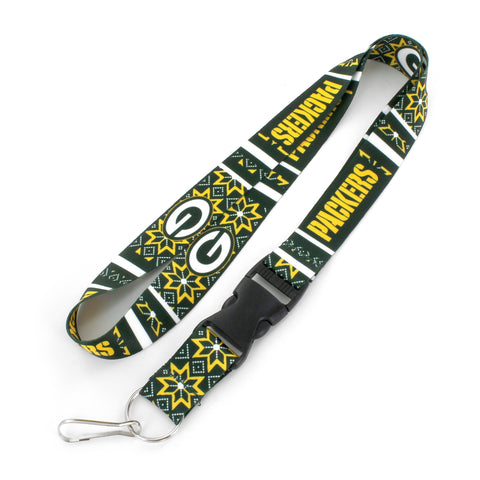 Green Bay Packers Ugly Sweater Lanyard