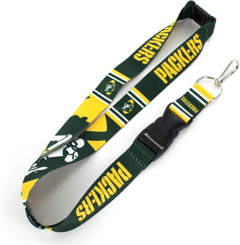 Green Bay Packers Mascot Lanyard