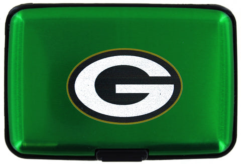 Green Bay Packers Green Aluminum Wallet